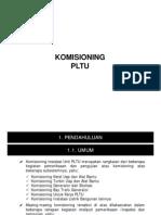 KOMISIONING PLTU