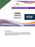 Dokumen Standard Kurikulum Sains Tahun 1 - Versi Bahasa Tamil