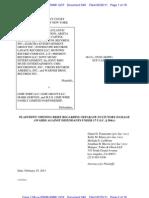 Arista v Limewire (Plaint. Mot.) (Doc. 540)