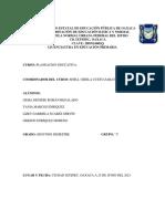 Gerson Enríquez Moreno. Segundo Semestre. Grupo C. Planeacion E. Final.
