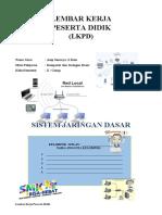 LKPD Instalasi Jaringan Komputer  ( Topologi jaringan) Asep Sunarya pert.2 udah isi