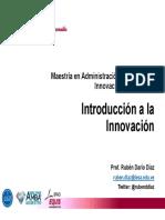 S1 - Introducción a la Innovación Empresarial