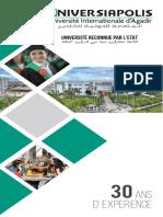 Brochure Universiapolis