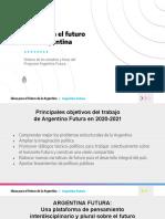 Ideas para el futuro de la Argentina