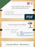 1. GENERALIDADES TRAUMATO 1