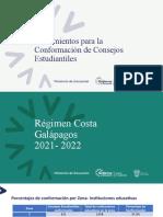 1.- Lineamientos Consejos Estudiantiles Costa 2021