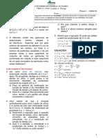 19 1 FISICA I Prova I Cap01e02 Gabarito