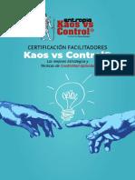 Programa de Certificación Facilitadores Kaos vs Control®