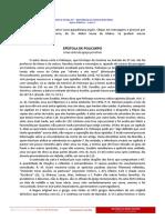 EPÍSTOLA de POLICARPO Uma Carta Da Igreja Primitiva