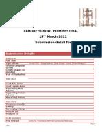 LSE film festival Registeration form