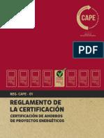 Reglamento de la Certificación