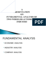 Fundamental Analysis Presentation