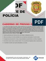 1242 - Agente de Policia Pc Df Simulado 23