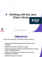 Working With the Java Class Library