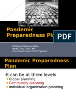 Pandemic Preparedness Plan