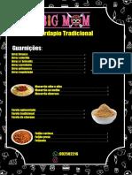 Cardapio Tradicional com kk