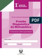 014959-ITEM 3-SEC 1-Prueba Diagnostica Matematica - Secundaria BAJA