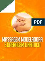 Massagem Modeladora e Drenagem Linfática