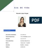 Hoja de Vida - Manuela Lopez Vargas - (1)