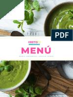 Menu y Recetario RETO10