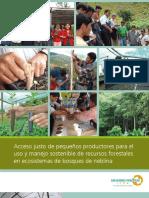 Acceso justo manejo sostenible pequeños productores en ecosistemas forestales  - Roland Urban