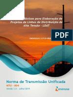 NTU 004 - Critérios Básicos para Elaboração de Projetos LDAT