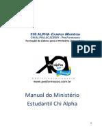 Manual do Ministério Estudantil Chi Alpha