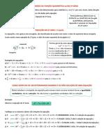6 Raízes Função Do 2º Grau e Equação Do 2º Grau 1ª Parte 9ª Semana