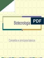 Biotecnologia - Conceitos e princípios básicos