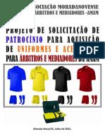 Modelo de projeto para aquisição de patrocínios para associações de árbitros