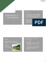 ecologia de la enfermedad