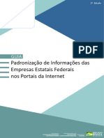 Sest Guia Padronizacao Das Informacoes Nos Sites Das Empresas Estatais Edicao 2