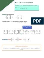 23 Matrizes Subtração 19112020