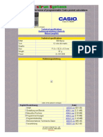 Casio fx-4000P