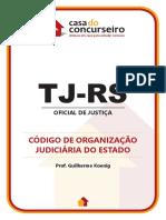 código de organização judiciária do RS