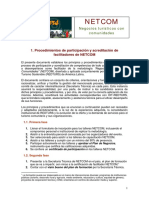 Proceso acreditacion NETCOM