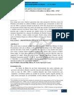 SANTOS, Maíza F. dos_A DITADURA NÃO PASSOU POR AQUI_REVISTA CONVERGENCIA CRÍTICA-UFF