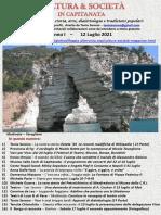 Cultura & Società in Capitanata N. 43 Del 12-07-2021