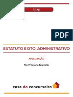tj-rs ATUALIZAÇÃO do estatuto estadual-lei de 2019