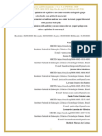 Parâmetros Físicos e Químicos Do Açafrão e Uso Como Corante Em Iogurte Grego