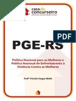 POLITICA NACIONAL PARA MULHERES