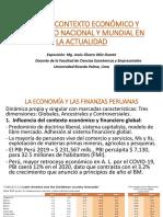 CONTEXTO ECONÓMICO Y FINANCIERO ACTUAL