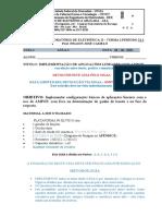 GUIA-2 LAB ELET II APLICAÇÕES BÁSICAS COM AMPOP PARA_SIMULAÇÃO 2021-1