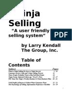 Ninja Selling Booklet 01-01-08