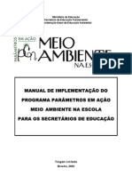 PLANO DE AÇÃO-MEIO AMBIENTE