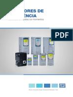 WEG Inversores de Frequencia 10525554 Catalogo Pt