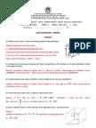 Lista Inicial sobre Prismas - Gabarito