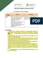 Bibliografía Medicina General EEO 2020