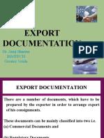 Export Documentation 1