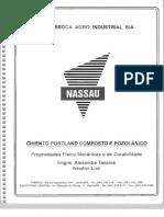 Propriedades Físico-Mecânicas e de Durabilidade do cimento Portland